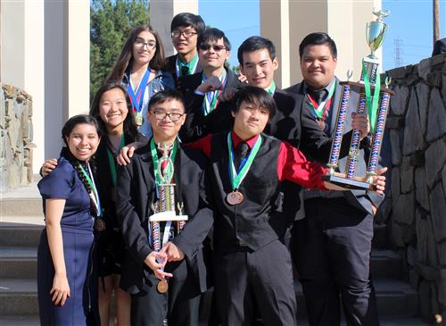 Academic Decathlon Team