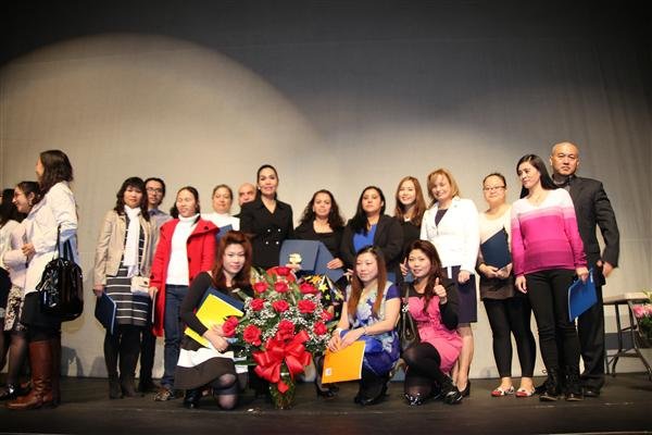 ENGLISH-AS-A-SECOND LANGUAGE STUDENTS GRADUATE
