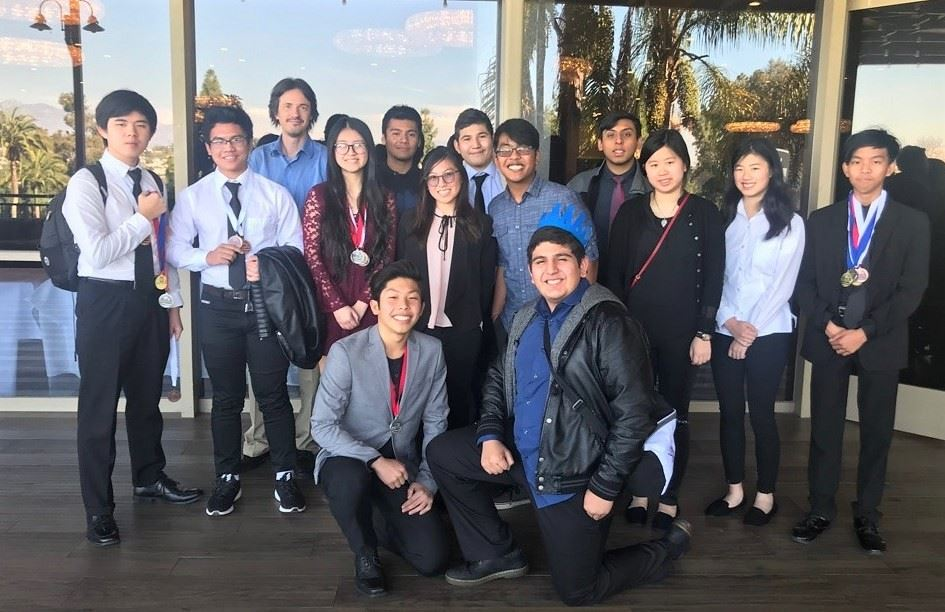 Mountain View High Academic Decathlon Team Makes Top 25
