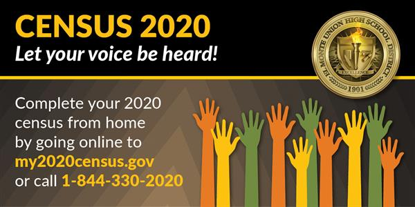 Countdown to Census 2020 Deadline: Everyone Counts!