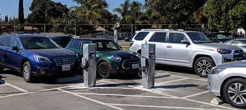 New Electric Charging Stations Installed