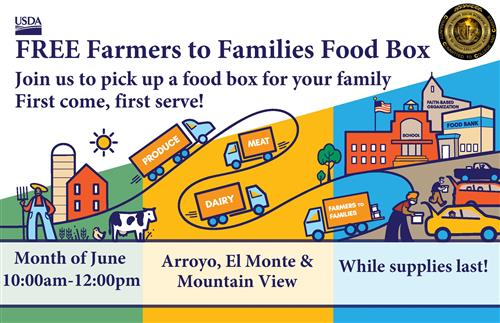 Farmers to Families Food Boxes to be Distributed in June; Access a Free Summer 2020 Meal Program