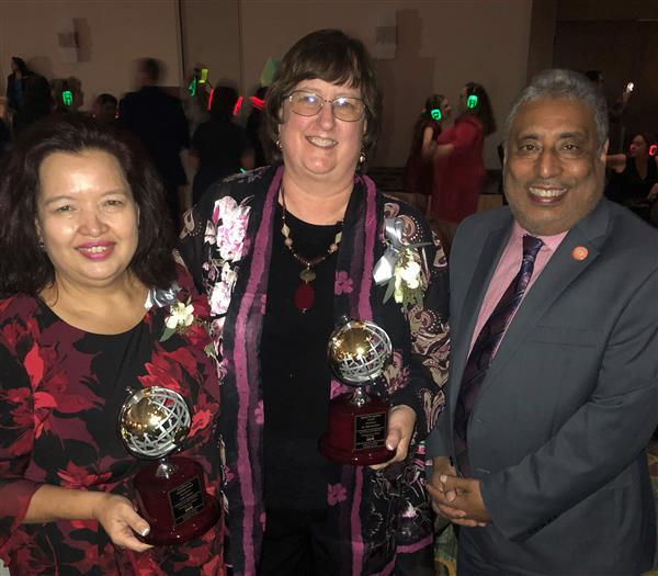 EMRAS Staff Honored at Adult Education Conference