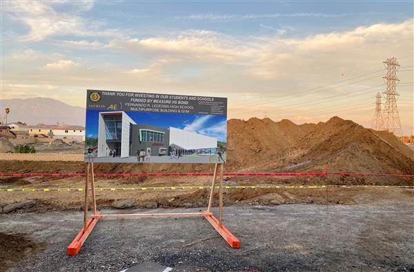 El Monte Union Breaks Ground on First Major Measure HS Bond Project