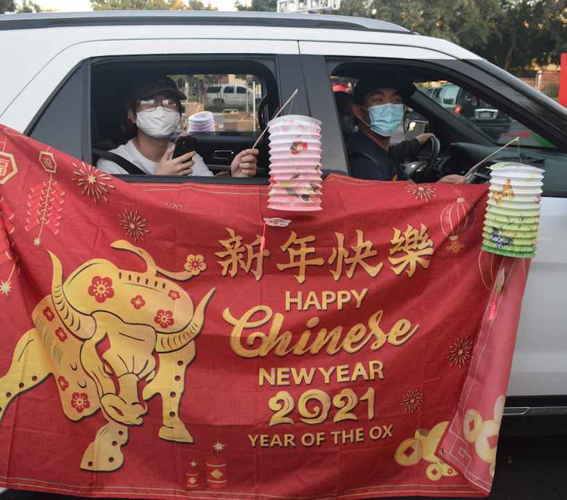 El Monte Union Commemorates Year of the Ox with Drive-Thru Lunar New Year Celebration