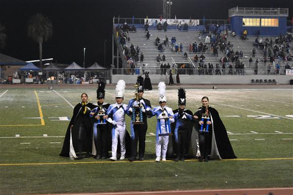 Arroyo High Band & Colorguard to Compete in SCSBOA 4A Division Championships
