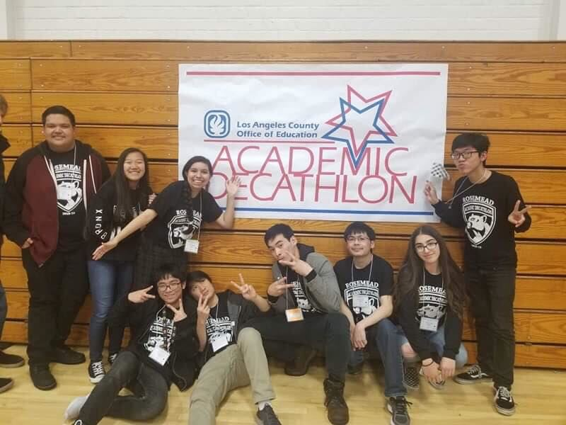 Rosemead AcaDeca Team Returns to State Competition March 22-24