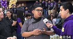 Univision 34 Los Angeles​ visits Mountain View High