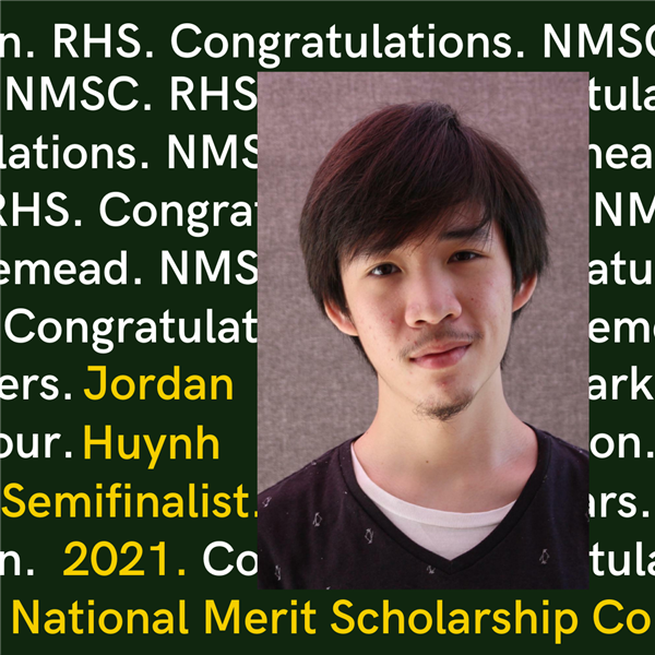 Semifinalist in the 2021 National Merit Scholarship Program