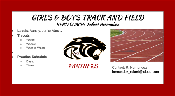 RHS Track and Field